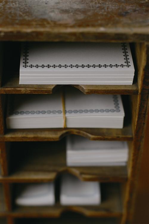 Buchdruckkarte